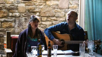 Roisin Clancy and Ryland Teifi by Patrice Cooney press