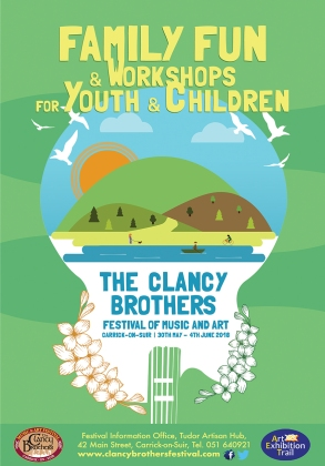 Clancy Festival 2018 4pp Flyer Front COVER April 23