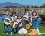 Tommy Dignam, Cara Clery, Cian Clery, Ciara Drohan and Sadhbh Clery looking forward to the Clancy Brothers Festival 2018