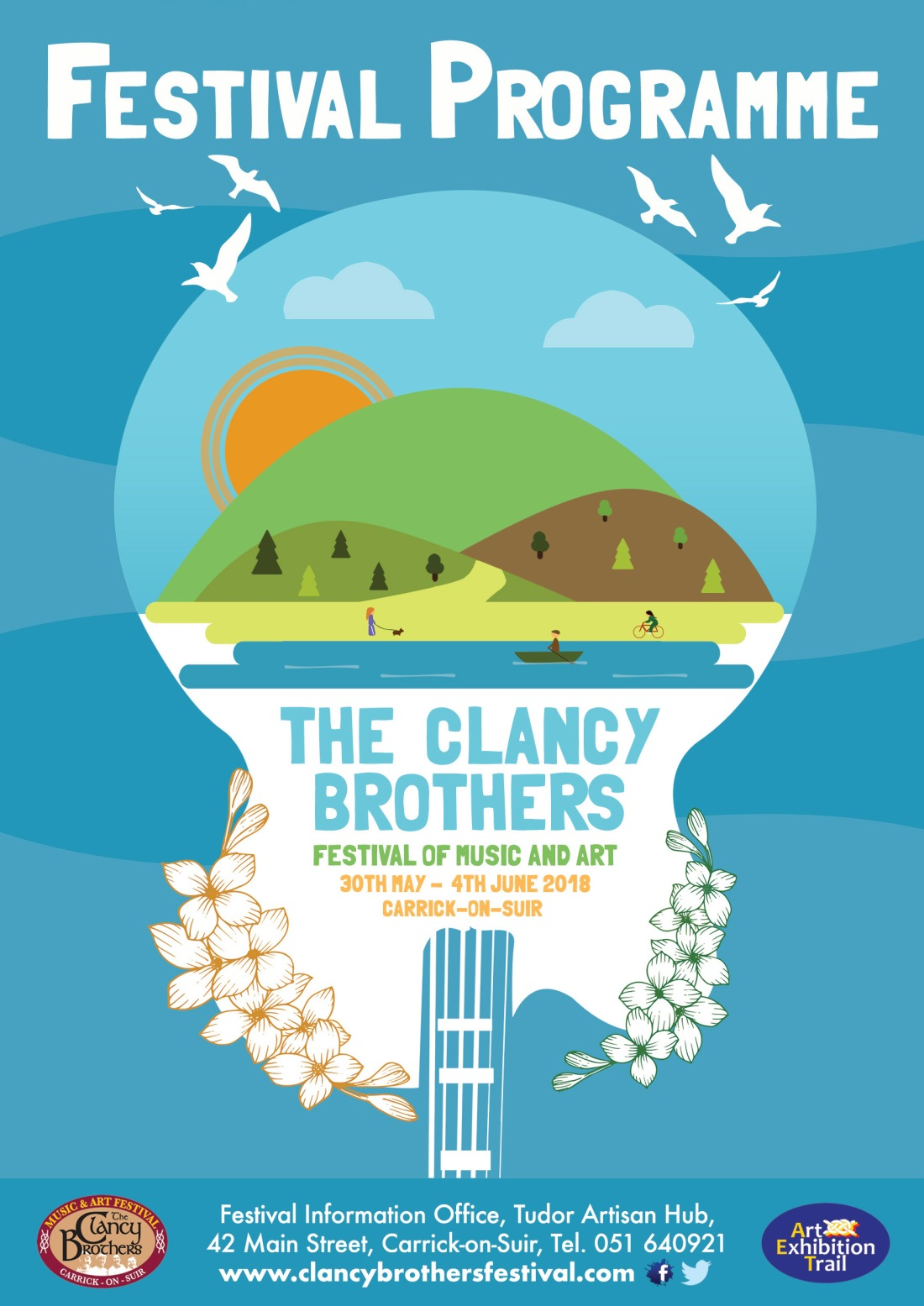 Clancy Brothers Festival Brochure - 1