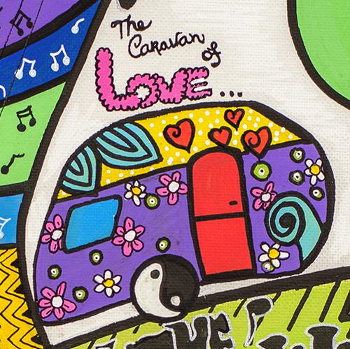 Caravan of Love by Athena booklet SQU 3