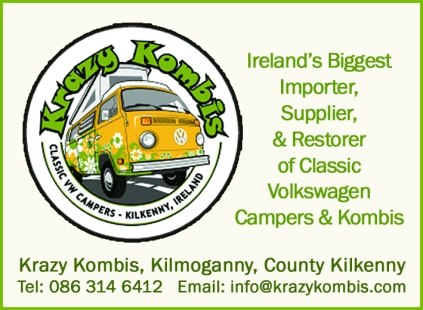 Krazi Kombi advert example