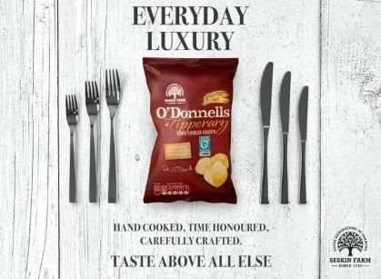 O'Donnells smaller ad