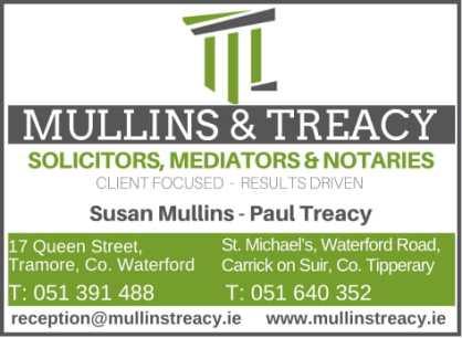 TREACY-MULLINS SOLICITORS AD 2018-1