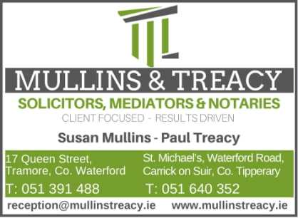 TREACY-MULLINS SOLICITORS AD 2018-1